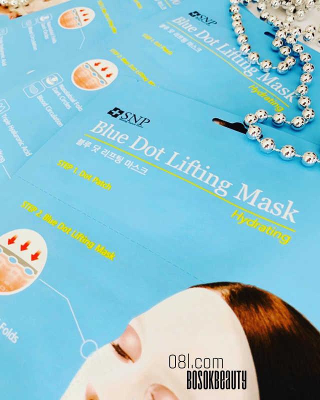 Hydrating Blue Dot Lifting Sheet Mask by snp #22